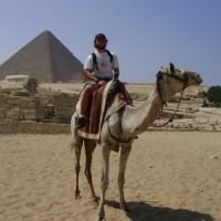 Mochileiro no Egito e as maravilhas que riem para o tempo!