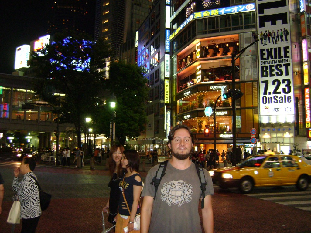 Mochileiro em Tóquio