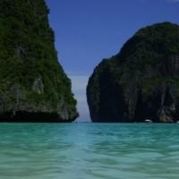 Mochileiro mergulha em Koh Phi Phi!