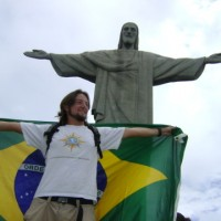 Mochileiro na última maravilha: o Cristo Redentor!
