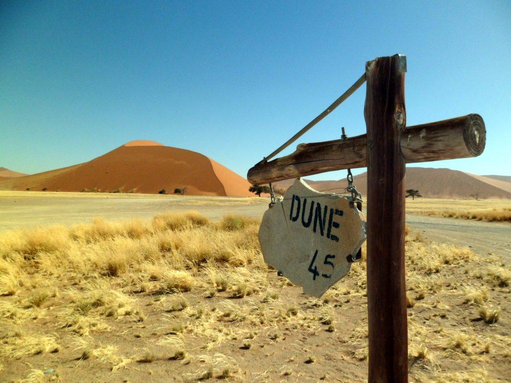 Duna 45, um dos meus lugares preferidos na Namíbia