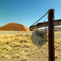 Primeira parada: Namíbia!