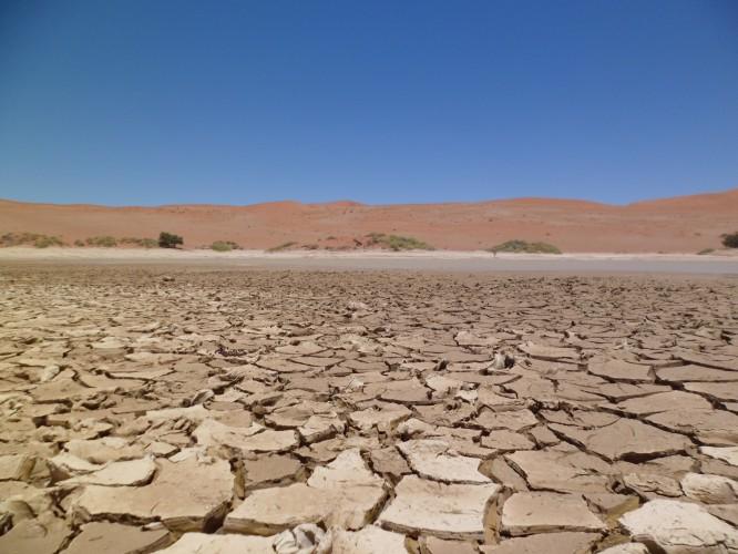 O deserto da namíbia.