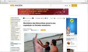 Mochileiro na Amazônia!