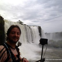 Mochileiro nas Cataratas do… Brasil!