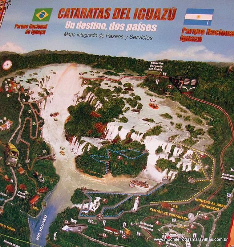 Cataratas do Iguaçu, um destino, dois países