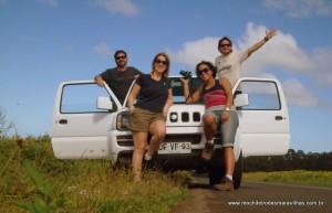 Os 4 aventureiros