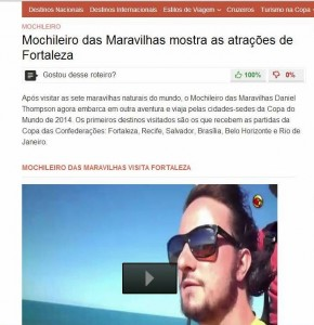 Mochileiro das Maravilhas em Fortaleza