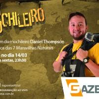 """Contagem regressiva para a estreia de """"O Mochileiro""""!"""