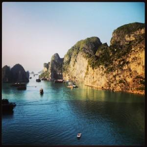 Halong Bay, Vietnã.