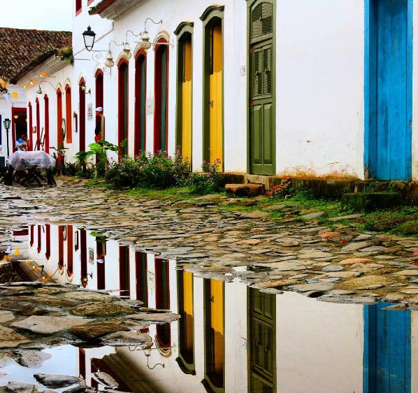 Centro Histórico de Paraty Instagram @mochileirodasmaravilhas