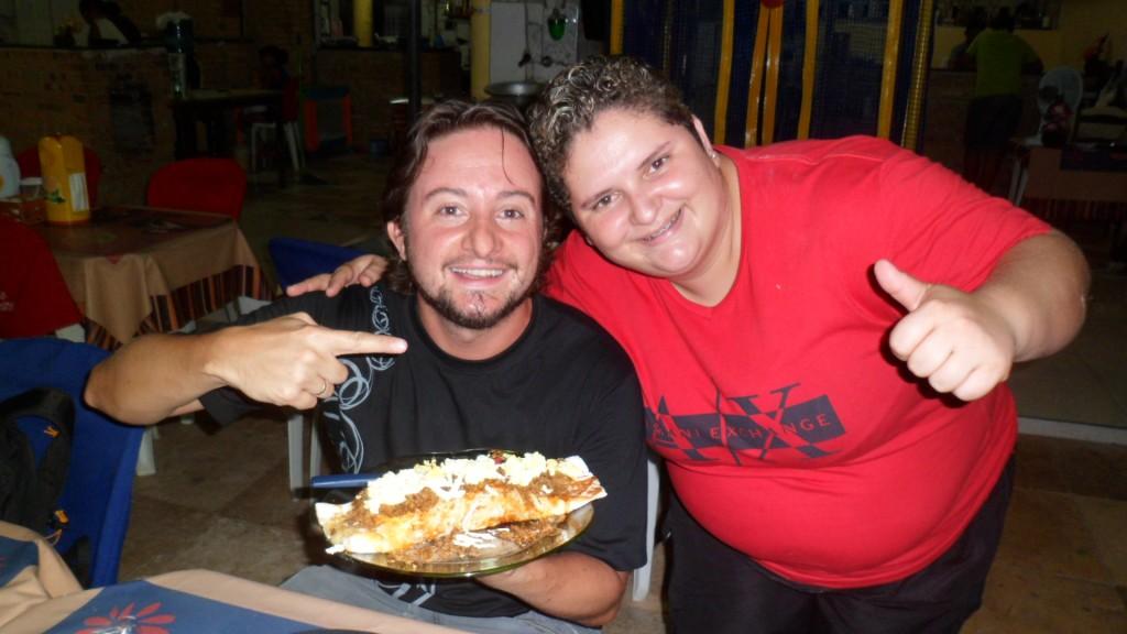 Eu, a Maria Redonda e a super tapioca!