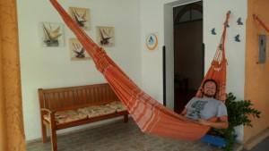 Minha rede social no Fortaleza Hostel