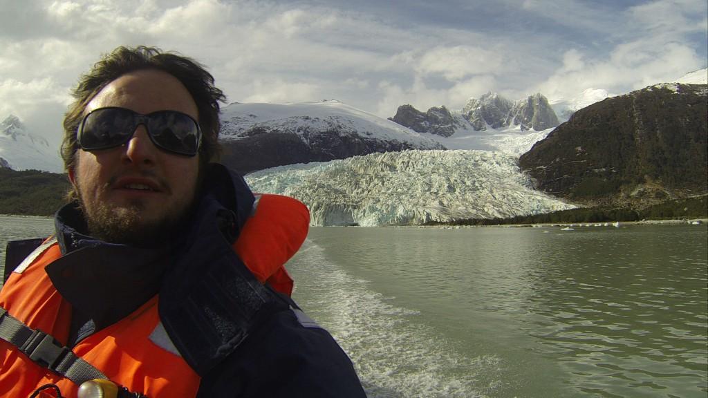 Deixando o Glaciar Pia