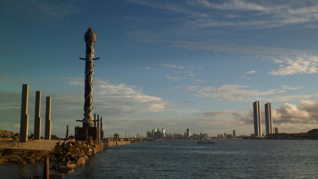 Parque das Esculturas e Recife