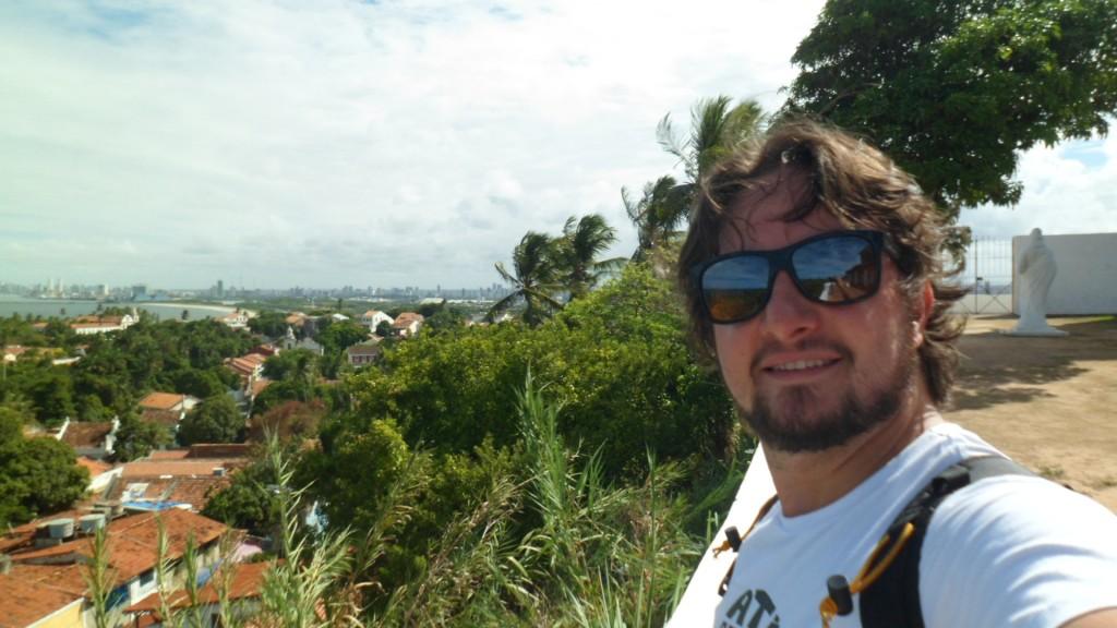 Olinda e Recife vistas do alto da Catedral da Sé