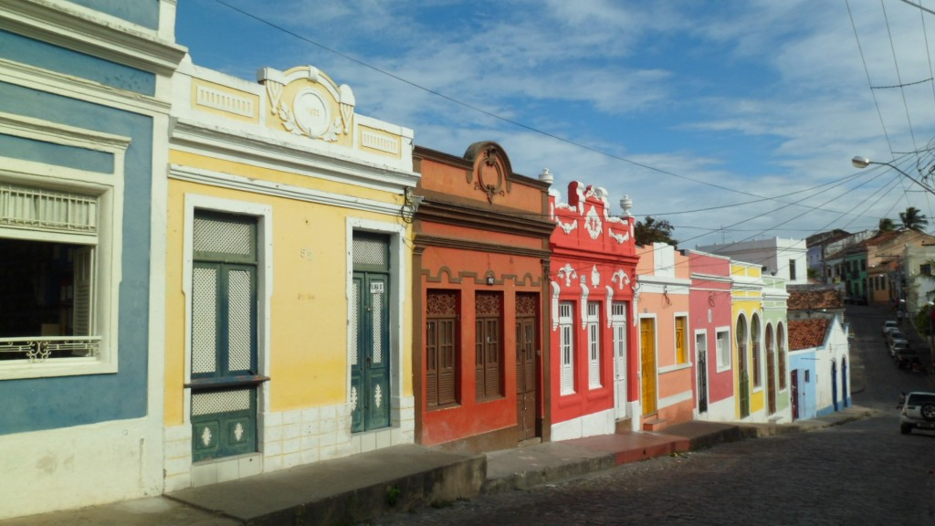 As casas coloridas de Olinda