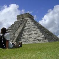 Mochileiro no México: aula de história na terra dos Maias!