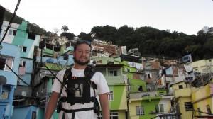 Final do TOur na favela de Santa Marta