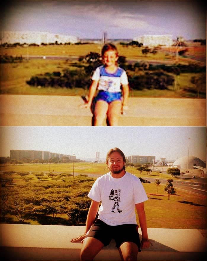 Mochileirinho e Mochileiro - 27 anos depois em Brasília