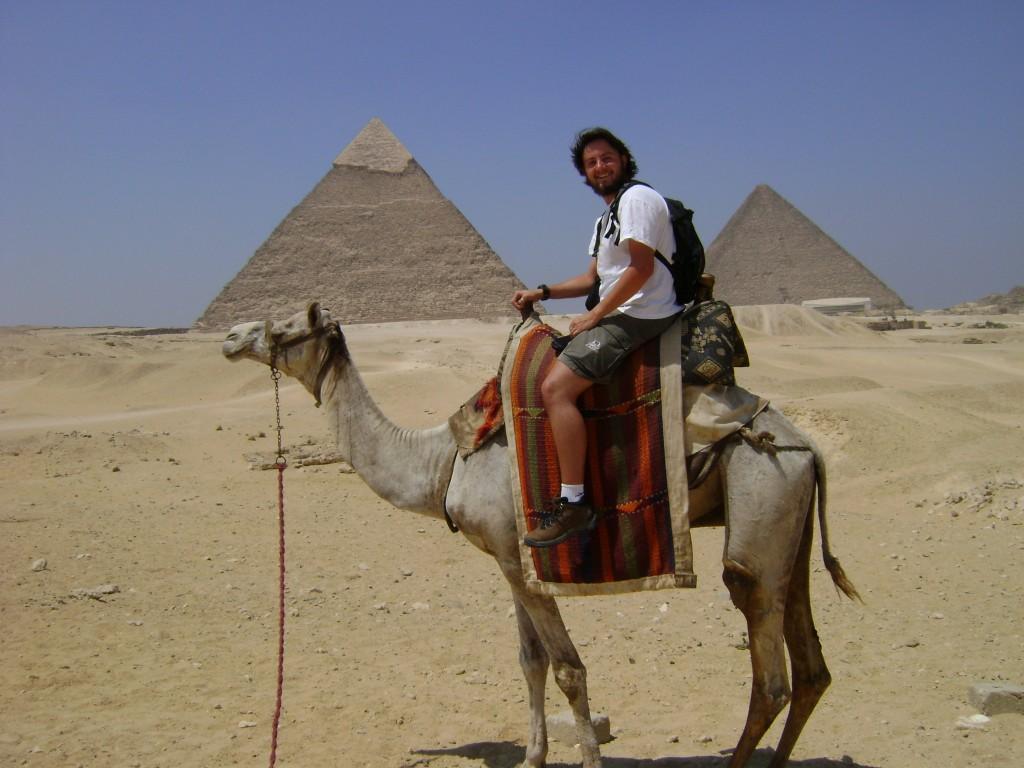 Mochileiro no Egito