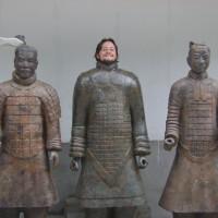 O Mochileiro e os soldados de Terracota!