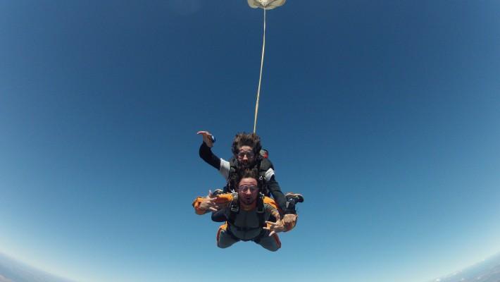 Salto de paraquedas em Foz do Iguaçu!