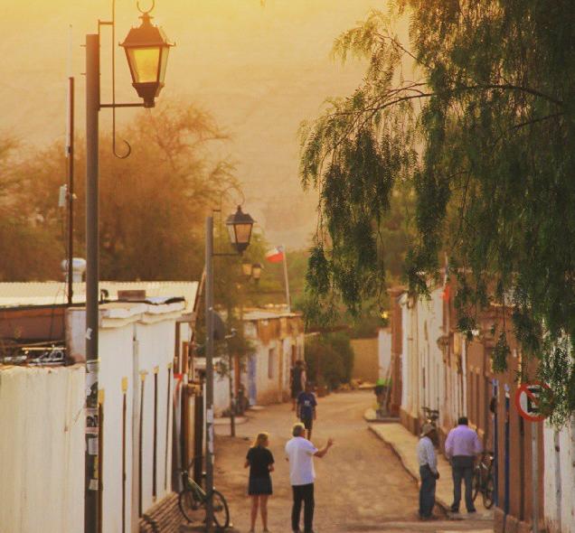 Uma das ruelas de San Pedro