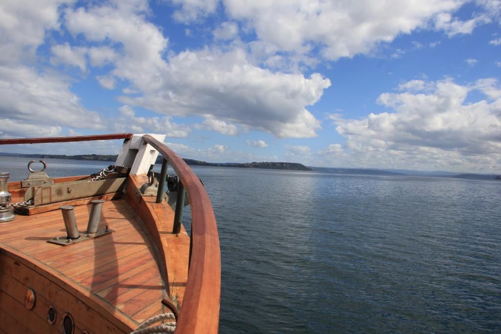 Navegando por Chiloé...
