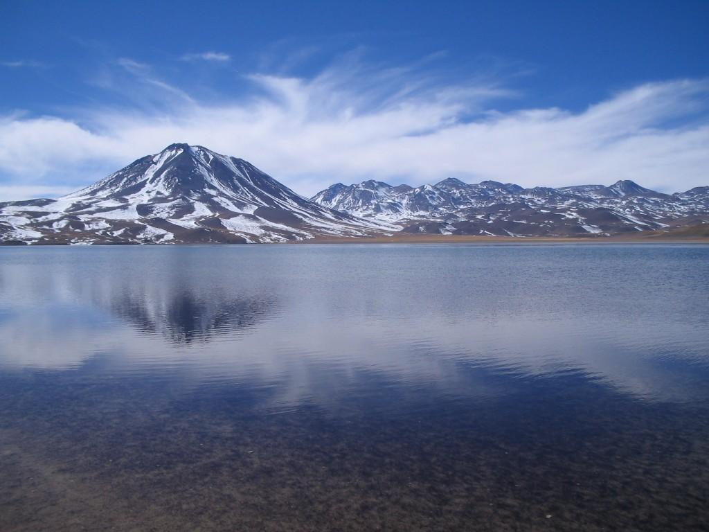 Uma das lagoas