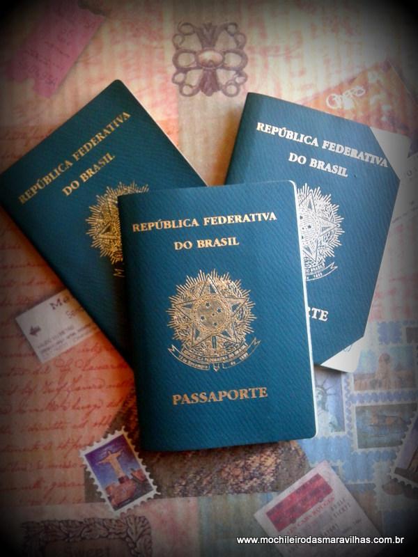 Passaportes antigos