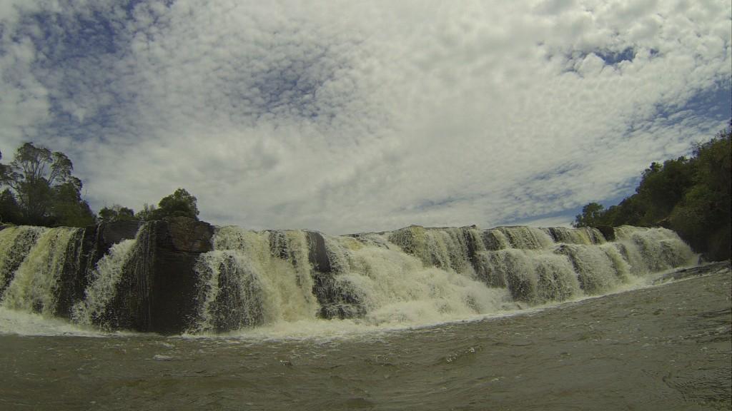 Mais uma cachoeira...