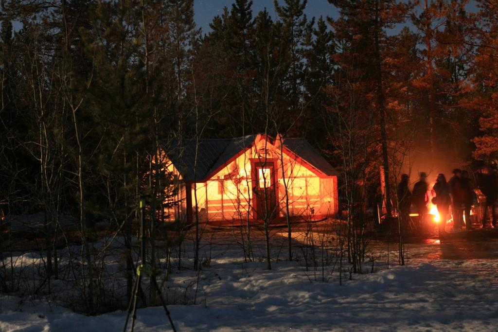 A nossa cabana