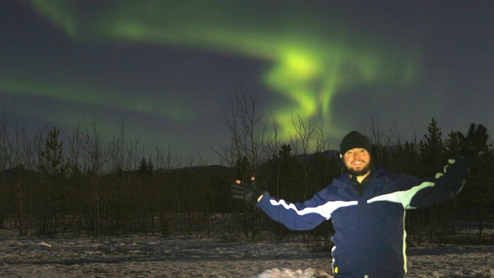 Aurora Boreal no Canadá!