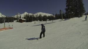 Snowboard em Banff