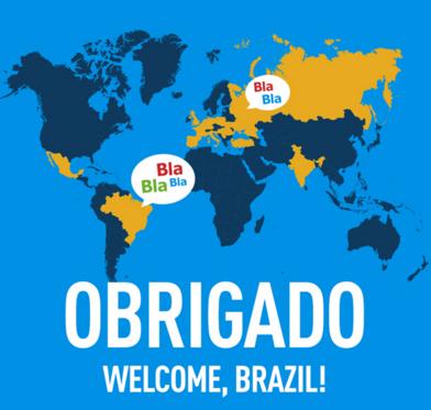 BlaBlaCar no Brasil!