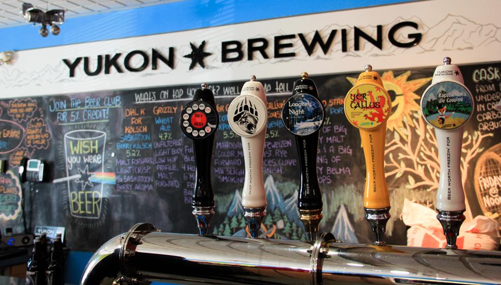 A deliciosa cervejaria de Whitehorse, a Yukon Bewing