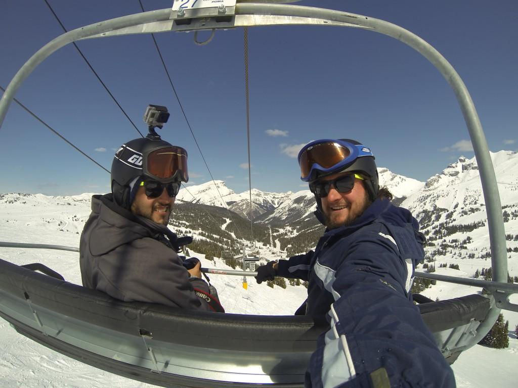 Subindo a montanha com o amigo Átila