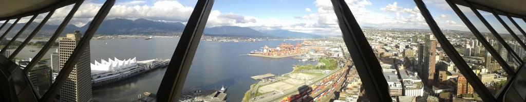 Vancouver vista de cima da torre