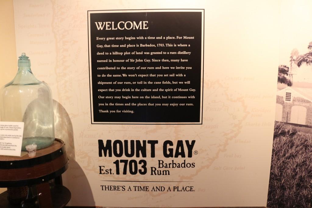Mont Gay, há mais de 300 anos fabricando rum.