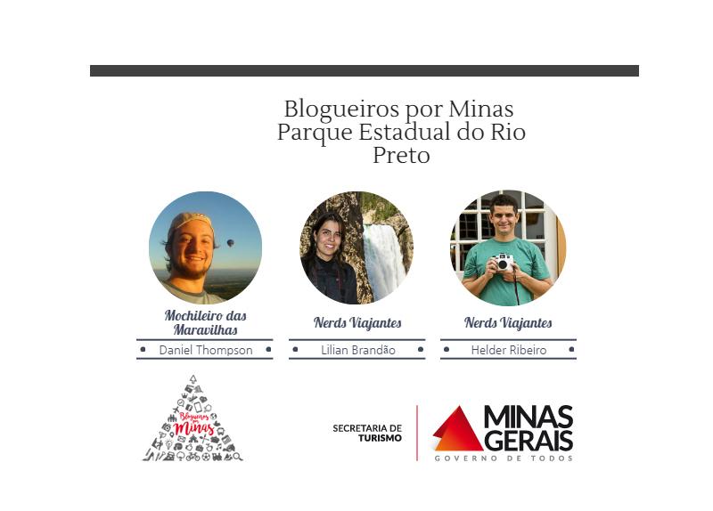 Blogueiros por Minas