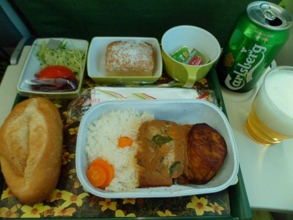 Jantar da Ethiopian Airlines (Addis Abeba / Lome)