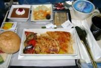 Tá com fome? Comida de avião!