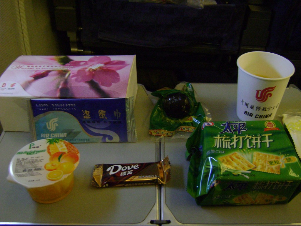 Comida de Avião - Air China