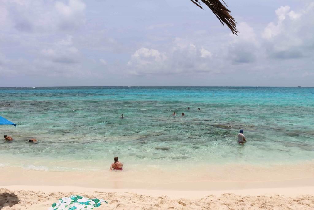 A Praia de Johnny Cay, em San Andrés