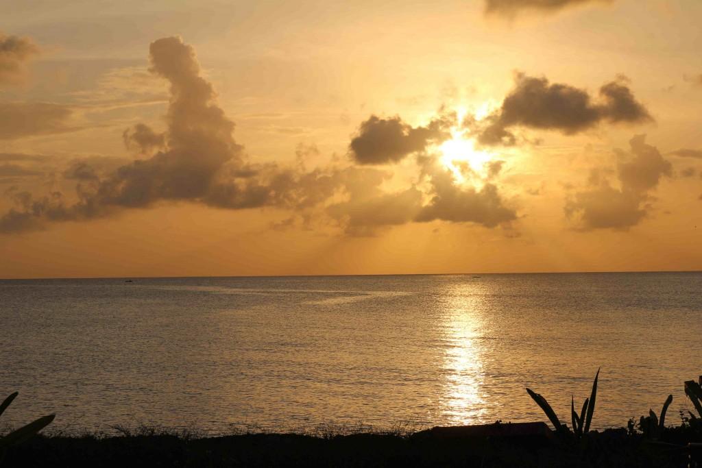 Mais um por do sol incrível em San Andrés