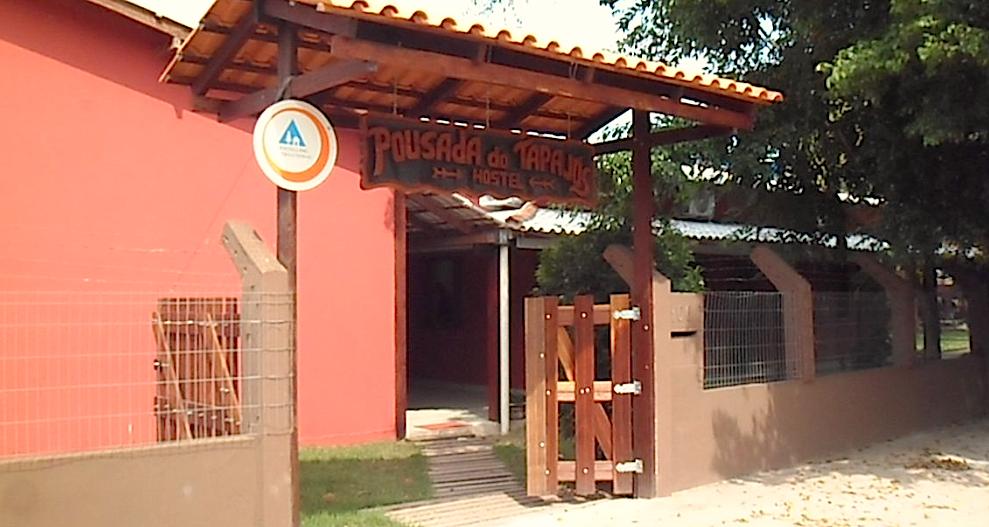 Entrada Tapajós hostel, em Alter do Chão - Pará