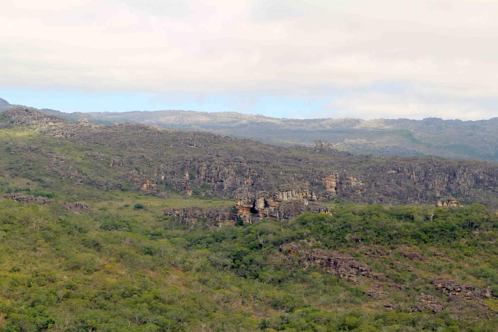 Um dos mirantes do Pq. Estadual do Rio Preto