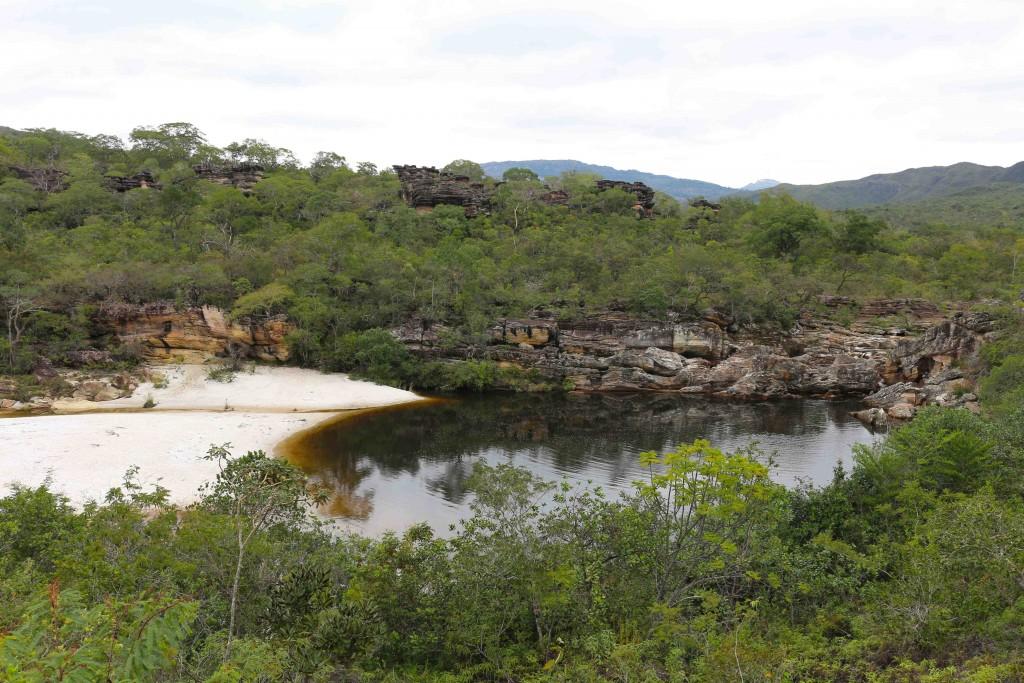 Poço do Veado, Parque Estadual do Rio Preto, Minas Gerais