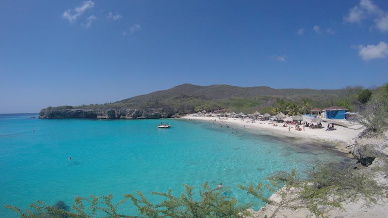 Praia Kenepa (ou Knip), em Curaçao